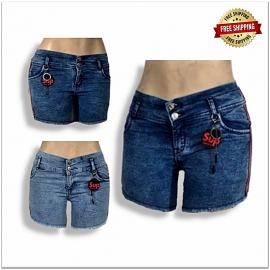 Wholesale Women Fancy Denim Shorts