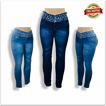Women High Waisted Designer Jeans