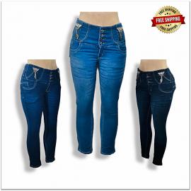 High Waisted Women Designer Jeans