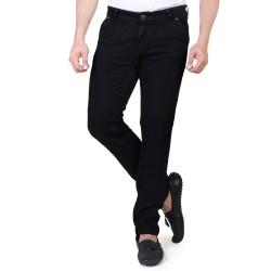 Denim Vistara Men's Black Slim Fit Jeans for Sale