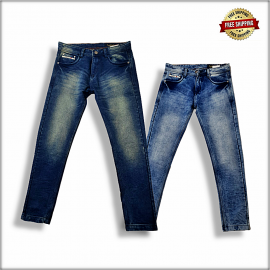 Men Regular Denim Jeans