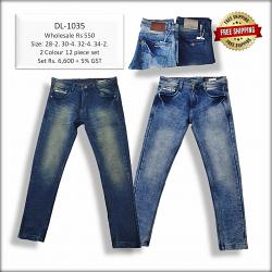 Men Regular Denim Jeans