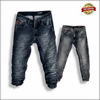 Men Regular Fitting Jeans DL-1036