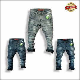 Men's Wrinkle Jeans wholesale Rate.