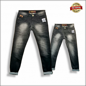 Wrinkle Stylish Jeans Wholesale B2b