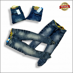 Men Relaxed Fit Jeans DL-1047