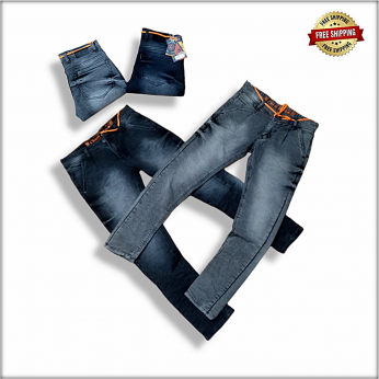 Relaxed Fit Men Jeans