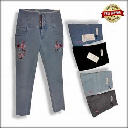 Wholesale Side Tape Jeans For Women