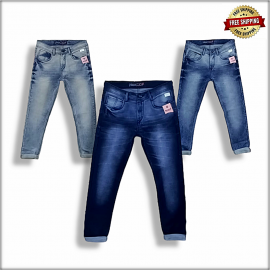 Men's Relaxed Fit Jeans 3 Colour Set