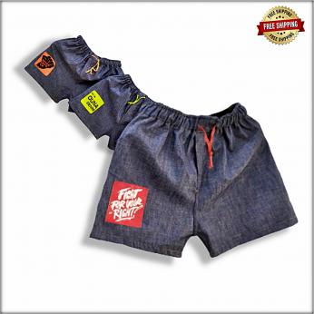 Elasticated Waist Denim Shorts GTU-B102