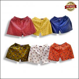 Multicoloured Printed Boxers