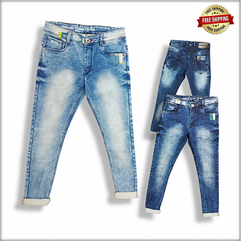 Men Blue Jeans 2 Colour Set DS100