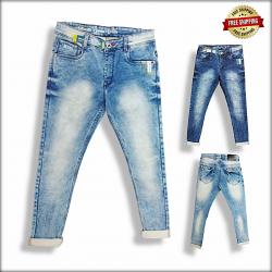 Men Blue Jeans 2 Colour Set