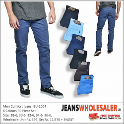 Men Relaxed Fit Jeans BU1004