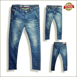 Men Blue Skinny Fit Stretchable Jeans