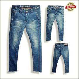 Men Blue Skinny Fit Stretchable Jeans