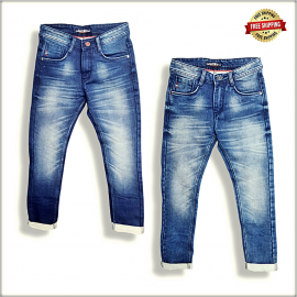 Men Relaxed Denim Jeans