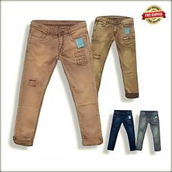 Men Regular Fit Jeans 4 Colour Set