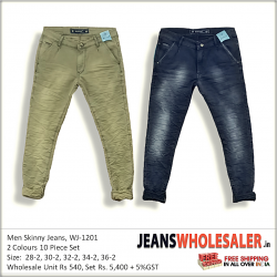 Men Stylish jeans 2 Colour Set