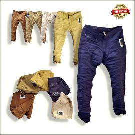 Men Narrow Fit Jeans 5 Colour Set