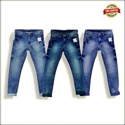 Men Blue Regular Stretchable Jeans