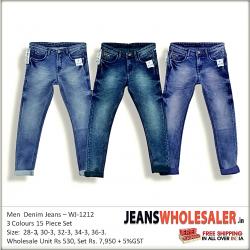 Men Regular Stretchable Blue Jeans