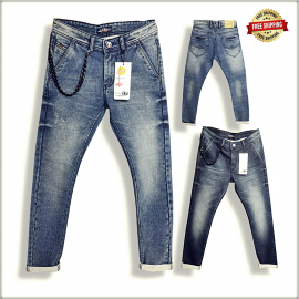 Mens Cross Pocket Jeans Wholesale Rs DS114
