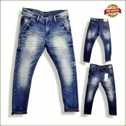 Men's Regular Printed Jeans Wholesale Prices DS115