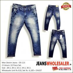 Men's Regular Printed Jeans