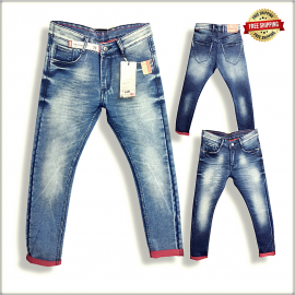Wholesale Men Regular Comfort Fit Jeans DS1810