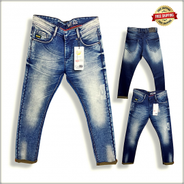 Men Regular Comfort Fit Jeans