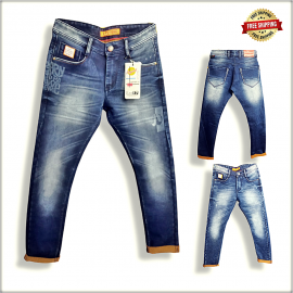 Wholesale Blue Denim Jeans For Men's DS1813