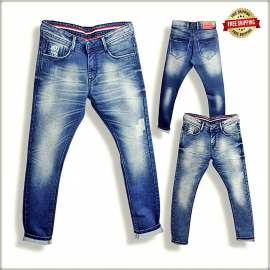 Blue Denim Jeans For Men's
