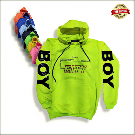 Mens Printed Hooded Sweatshirt