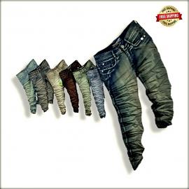 Mens Funky Colour Jeans Wholesale WJ1233