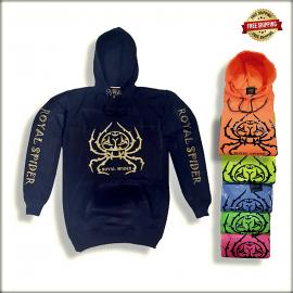 Royal Spider Mens Hoodies Sweatshirt