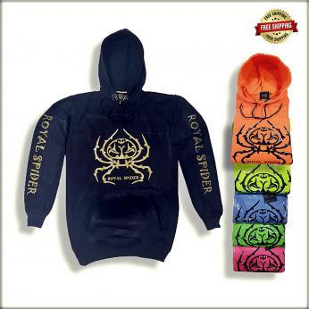 Royal Spider - Mens Hoodies Sweatshirt S203