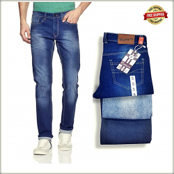 Denim Vistara Men Regular Jeans Wholesale Price DV0789