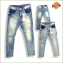 Mens Ankle Fit jeans Jeans DS1873