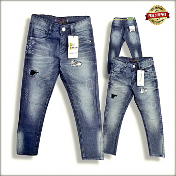 Mens Ankle Damage jeans DS1883