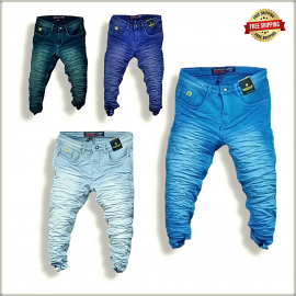 Wholesale Funky Colour Men Jeans WJ1245