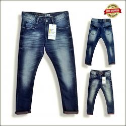 Wholesale Men Regular Denim Jeans DS1835