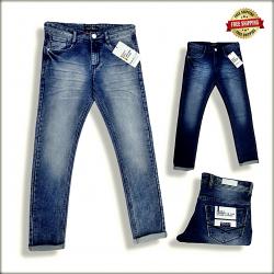 Mens Blue Jeans Regular Fit