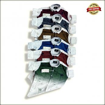 Lukkari Mens Designer Printed Shirts WT2043