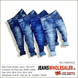 Men's Cross Pocket Jeans