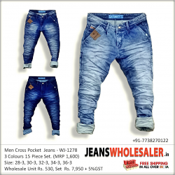Mens Denim Jeans Pant
