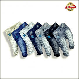 Mens Funky Colour Jeans WJ1283