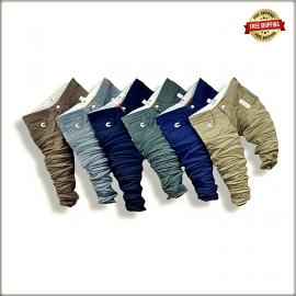 Men Dusty Colours Cotton Denim Jeans