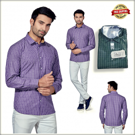 Men's Small Check Shirt