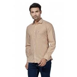 Men Check Lining Shirt